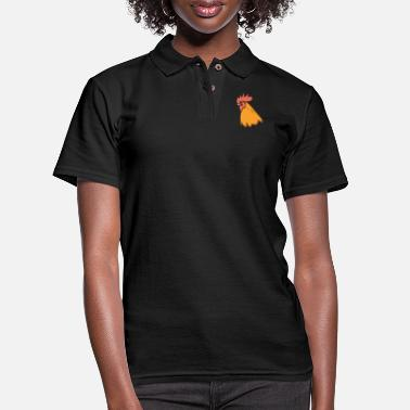 Rooster Rooster - Women's Pique Polo Shirt