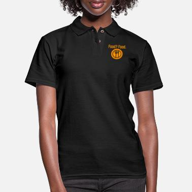 Food Food? Food. - Women's Pique Polo Shirt