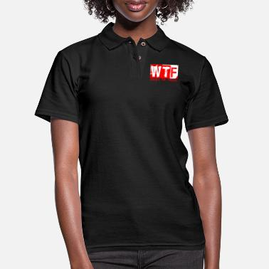Wtf Fireball WTF WHERES THE FIREBALL - Women's Pique Polo Shirt