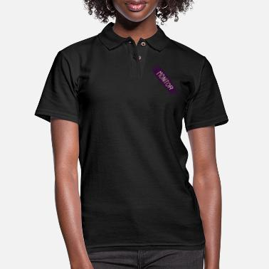 Monitoring Monitor Halloween - Women's Pique Polo Shirt