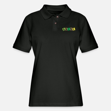 Animal Anime, animes, animation - Women's Pique Polo Shirt