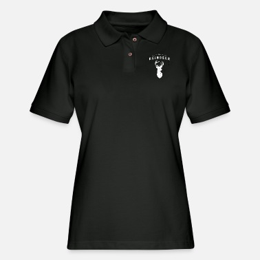 Reindeer Reindeer - The Reindeer - Women's Pique Polo Shirt