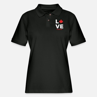 Canada Canada - Love canada - Women's Pique Polo Shirt