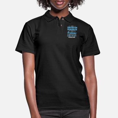 Construction Construction Scheduler - Women's Pique Polo Shirt