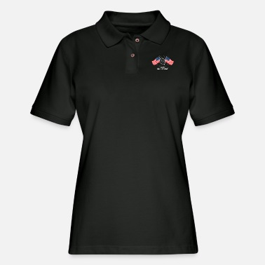 Patriot Freedom - Independence Day - 4th Of July - Women's Pique Polo Shirt