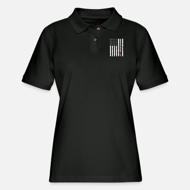 Gear Shift American Motorcycle Crotch Rocket Gear Shifting - Women's Pique Polo Shirt