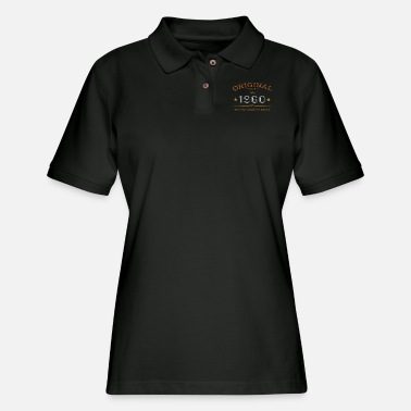 Date born in 1960 legend of original birthday gift - Women's Pique Polo Shirt