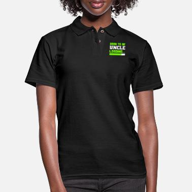 Uncle Soon to be Uncle, Uncle Loading, Uncle To Be - Women's Pique Polo Shirt