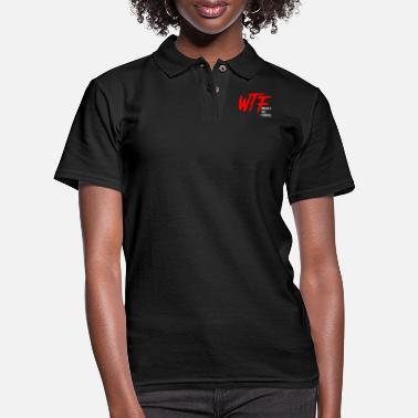 Wtf Fireball WTF Where's The Fireball T-Shirt (1) - Women's Pique Polo Shirt