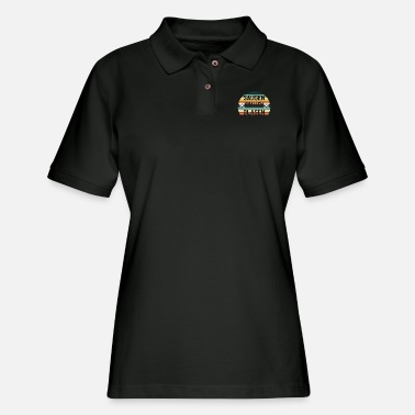 Blasen Saugen Knallen Blasen Mechaniker - Women's Pique Polo Shirt