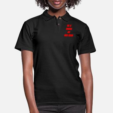 Slave Female slave to the rave - Women's Pique Polo Shirt
