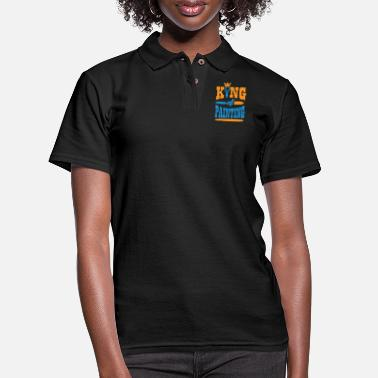 Painting Painting - King of painting! - Women's Pique Polo Shirt