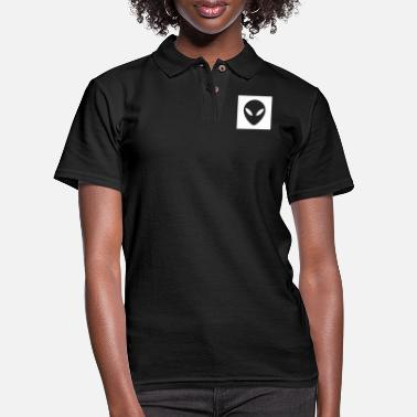 Ancient aliens are my friends - Women's Pique Polo Shirt