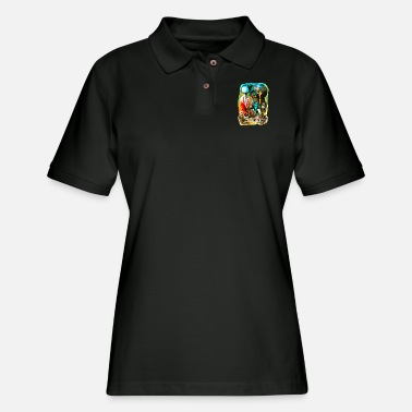 Saga saga - Women's Pique Polo Shirt