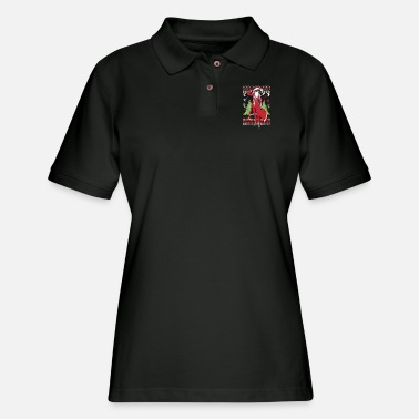 Ugly Christmas sweater for Kirito lover - Women's Pique Polo Shirt