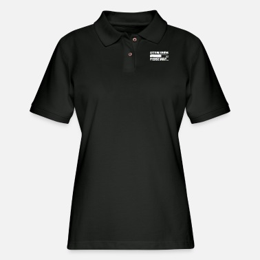 Get Drunk Getting Drunk .. - Women's Pique Polo Shirt