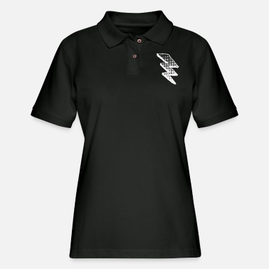 Relâmpago Rayo - Flash - Women's Pique Polo Shirt