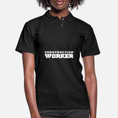 Construction Construction Worker - Women's Pique Polo Shirt