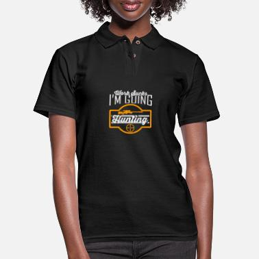 Horns Hunting - Women's Pique Polo Shirt