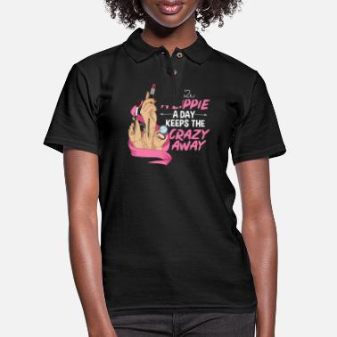 Beautiful Makeup Quote for a Esthetician - Women's Pique Polo Shirt