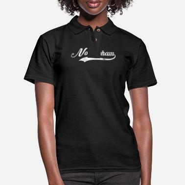 Nottinghamshire Vintage Retro Nottingham Gifts. - Women's Pique Polo Shirt