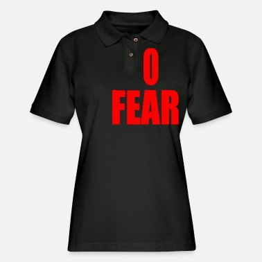No Fear FEAR - Women's Pique Polo Shirt