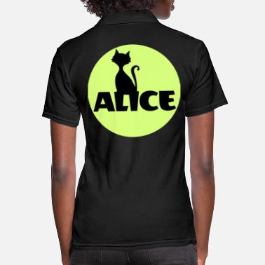 Name Day Alice First name Name Personal gift Name day - Women's Pique Polo Shirt