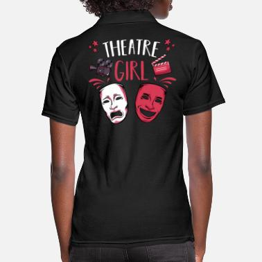 Theatre Theatre - Women's Pique Polo Shirt