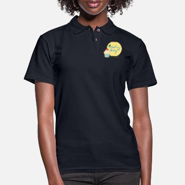 Pick Up Line Flirty Cupcake Pick up lines - Women's Pique Polo Shirt