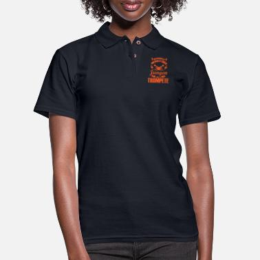 Wind Trumpet Jazz Wind Musician Music Gift - Women's Pique Polo Shirt