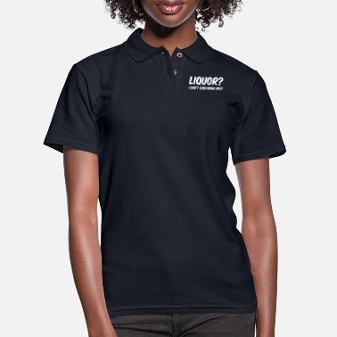 Liquor LIQUOR - Women's Pique Polo Shirt