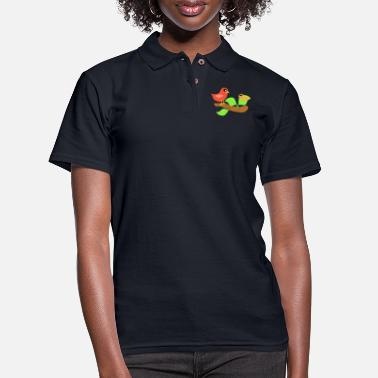 Scene Bird Scene - Women's Pique Polo Shirt