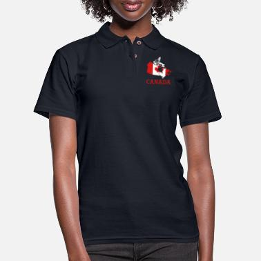 Canada canada - Women's Pique Polo Shirt