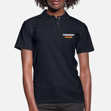 German Champion Germany - Women's Pique Polo Shirt