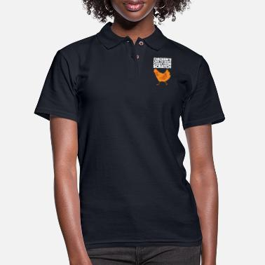 Scratch Farming Gifts for Farmers and Pawns - Women's Pique Polo Shirt