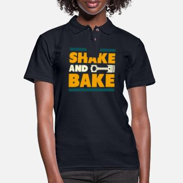 Shake And Bake I Funny Car Lover Tuning Fan - Women's Pique Polo Shirt