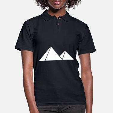 Pyramid Pyramids - Women's Pique Polo Shirt