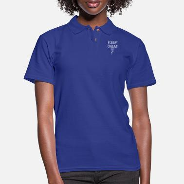 Keep Calm Keep calm - Keep calm And ? - Women's Pique Polo Shirt