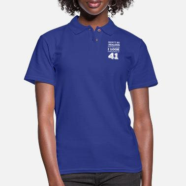 Good Day Don't Be Jealous Just Because I Look This Good At - Women's Pique Polo Shirt