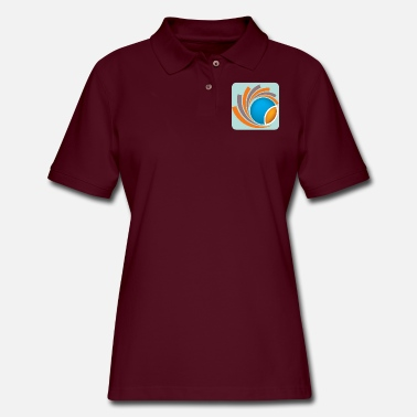 Logo Logo - Women's Pique Polo Shirt