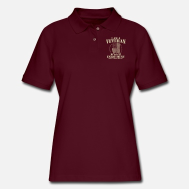Veteran I'm a Veteran - Women's Pique Polo Shirt