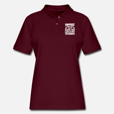 Teacher Shirt - Smart Sexy Teacher's Boyfriend - Women's Pique Polo Shirt