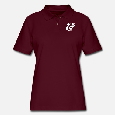 Typography typography - Women's Pique Polo Shirt