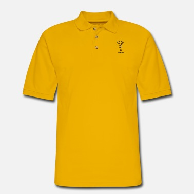 Darwin This Is Darwin - Men's Pique Polo Shirt