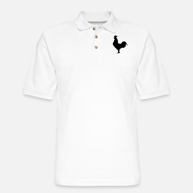 Cock Cock - Men's Pique Polo Shirt
