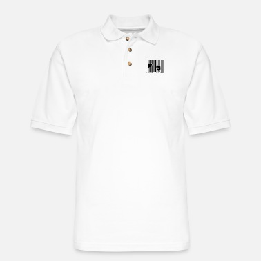 Slave Female Slave system slave break of the system - Men's Pique Polo Shirt