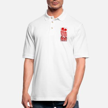 Graphic Art The Lovers Graphic ART - Men's Pique Polo Shirt