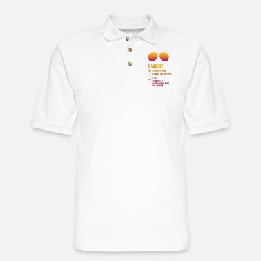 I Want To Break Free retro - Men's Pique Polo Shirt