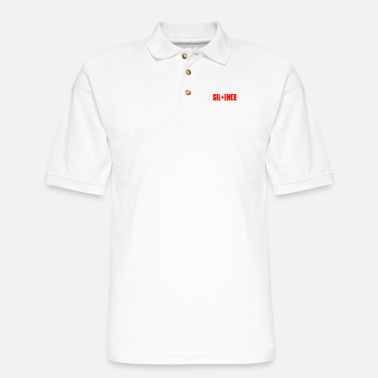Silence SILENCE - Men's Pique Polo Shirt