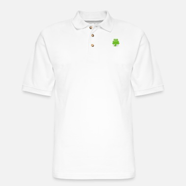 Shamrock Shamrock - Men's Pique Polo Shirt
